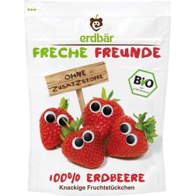 Ekologiški braškių traškučiai FRECHE FREUNDE, 12 g