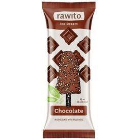 Veganiški šokoladiniai ledai RAWITO, ekologiški, be laktozės, 65ml