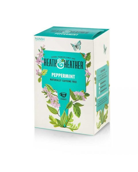 Pipirmėčių arbata HEATH & HEATHER, be kofeino 100g