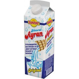"""Turkiškas jogurtinis gaivusis gėrimas """"Ayran"""" SUNTAT, 1l"""