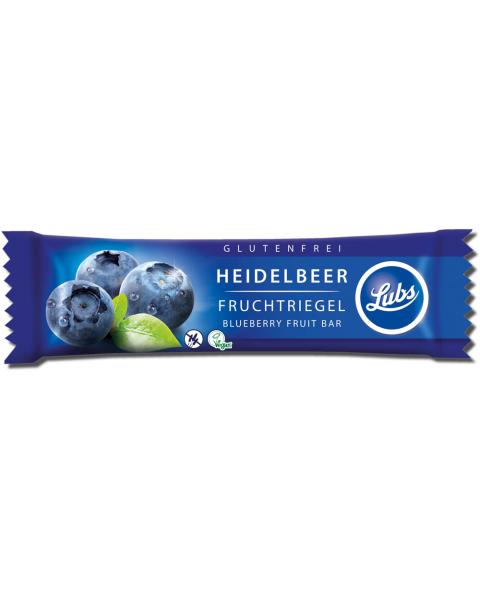 Ekologiškas mėlynių vaisinis batonėlis LUBS, 30 g