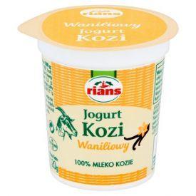 Ožkų pieno jogurtas RIANS su vanile, 120g