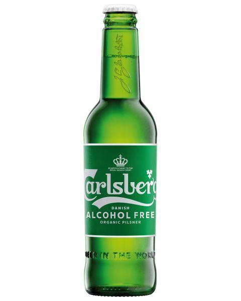 Nealkoholinis ekologiškas alus Carlsberg Organic 0,5%, 330ml