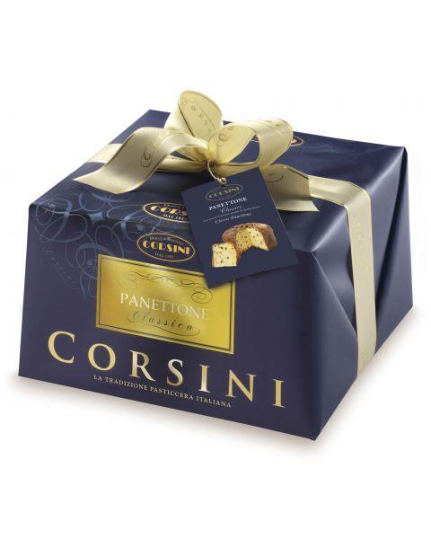 Itališkas klasikinis pyragas Panettone CORSINI, 1000 g