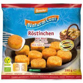 """Šaldyti bulviniai paplotėliai""""Hash browns"""" NATURAL COOL, biodinaminiai, 390g"""