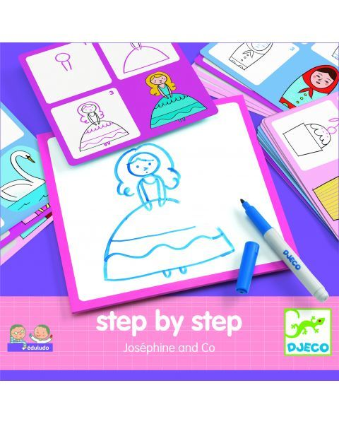 Lavinamasis piešimo žaidimas DJECO vaikams nuo 4 metų (DJ08320)