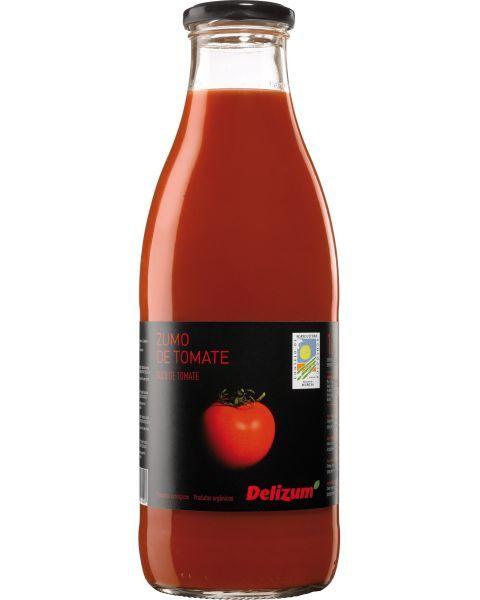 Ekologiškos pomidorų sultys DELIZUM, 750ml