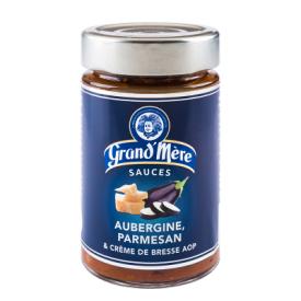 Baklažanų ir parmezano sūrio padažas makaronams GRAND'MERE su grietinėle, 190 g