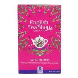 Ekologiška arbata ENGLISH TEA SHOP Superberries, 20 maišelių