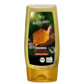 Ekologiškas akacijų medus BIOZENTRALE, 350 g