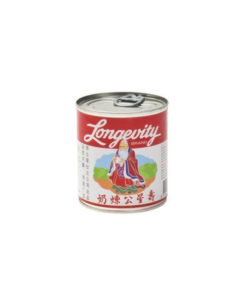 Saldintas sutirštintas pienas LONGEVITY, 397 g