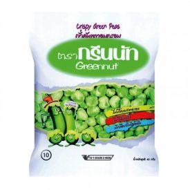 Traškūs žalieji žirneliai GREENNUT, 40 g