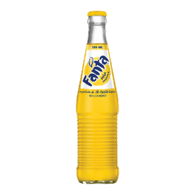 Gazuotas gėrimas FANTA ananasų skonio, 355 ml