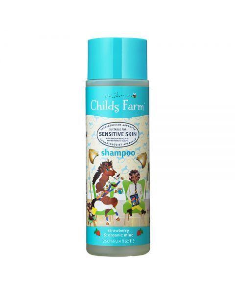 Šampūnas vaikams CHILDS FARM su braškėmis ir ekologiškomis mėtomis, 250 ml