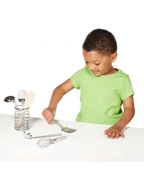 Žaislinis virtuvės įrankių rinkinys MELISSA & DOUG, 1 vnt. 2