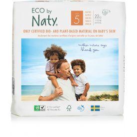 Sauskelnės EKO by NATY 5 Junior 11-25 kg vaikams, 22 vnt.