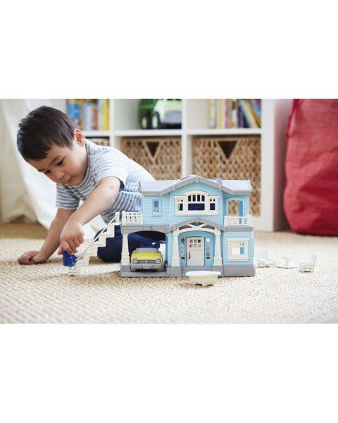 """Žaislų rinkinys """"Žydras namas"""" GREEN TOYS ™ (10 dalių), 1 vnt. 4"""