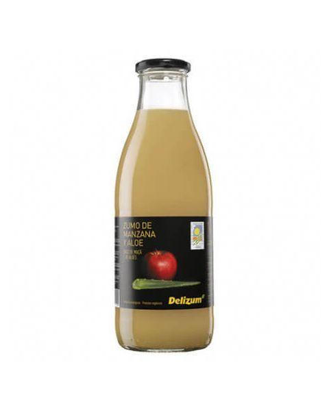 Ekologiškos obuolių ir alavijų sultys DELIZUM, 750ml