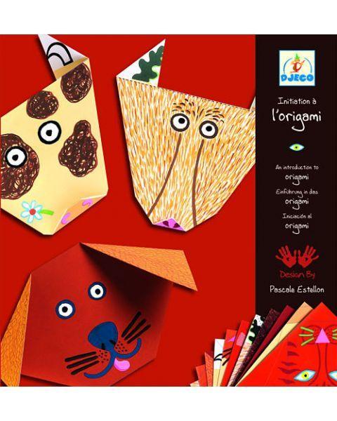 Pirmasis origami rinkinys DJECO 4-8 metų vaikams (DJ08761)