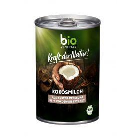 Ekologiškas kokosų pienas BIOZENTRALE, riebumas 17%, 400ml