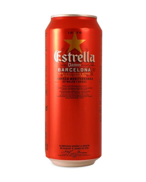 Alus Estrella Damm Barcelona, 500 ml