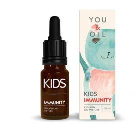 Eterinių aliejų mišinys aromaterapijai vaikams YOU&OIL Imunitetas, 10 ml