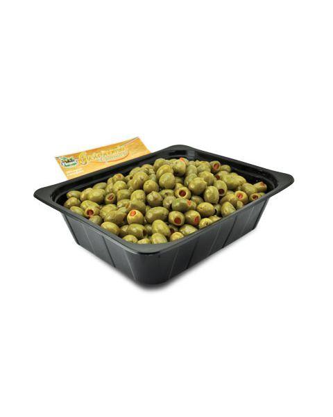 Žaliosios alyvuogės įdarytos paprikomis FICACCI, 1 kg 2