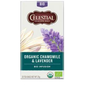 Ekologiška arbata CELESTIAL  su ramunėlėmis ir levandomis 25g
