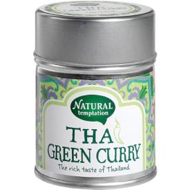 """Ekologiškas prieskonių mišinys NATURAL TEMPTATION """"Thai green curry"""", 35 g"""
