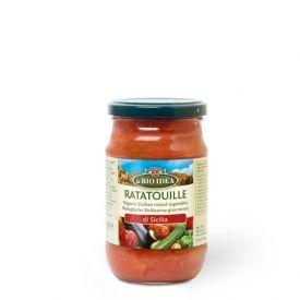 Ekologiškas sicilietiškas daržovių troškinys Ratatouille LA BIO IDEA, 300 g