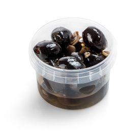Juodos marinuotos alyvuogės B/K