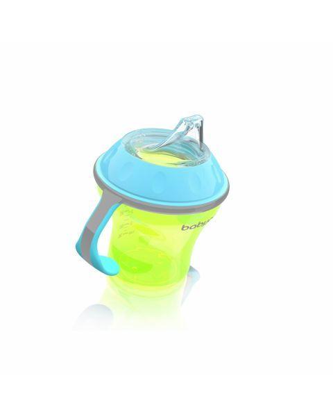 Neišsiliejantis puodelis BABYONO minkštu snapeliu vaikams nuo 3+ mėn., 180 ml (1456) 3