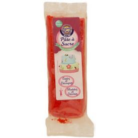Cukraus masė dekoravimui SAINTE LUCIE, raudonos spalvos, 100 g