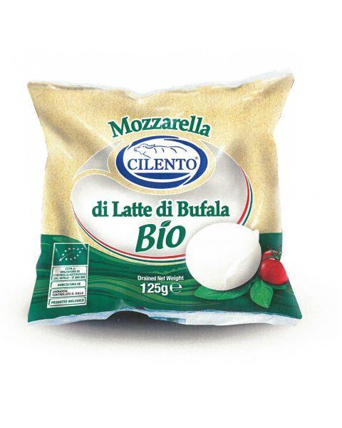 Ekologiškas buivolių pieno sūris Mozzarella di Bufala Campana DOP, CILENTO, 52% rieb. s. m., 150g