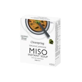 Ekologiška Miso sriuba CLEARSPRING, 4*10g