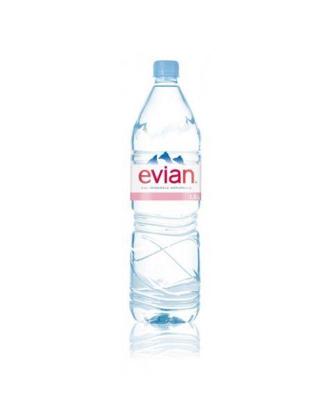 EVIAN natūralus mineralinis vanduo 1,5 l