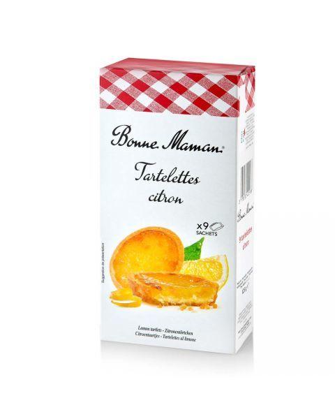 Sausainiai tartaletės BONNE MAMAN, su citrina, 125g