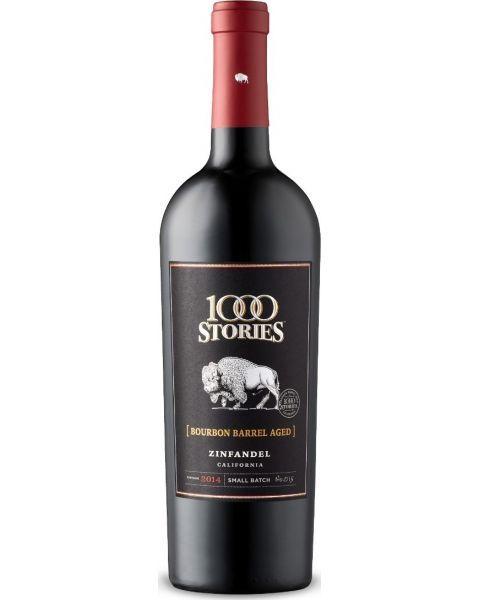 Raudonas sausas vynas 1000 Stories Zinfandel 14,5%, 750ml