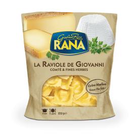 "Ravioliai su ""Comte"" sūriu ir prieskoninėmis žolelėmis RANA, 250g"
