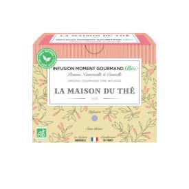 Ekologiška arbata LA MAISON DU THE Infusion Moment Gourmand, 15 maišelių