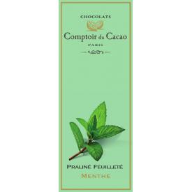 Šokoladas COMPTOIR du CACAO, su mėtos įdaru, 80 g