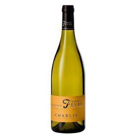 Baltas vynas Domaine Nathalie & Gilles Fevre Chablis 2018 12.5%, 750 ml