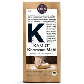 "Ekologiški, pilno grūdo ""KAMUT® Khorasan"" miltai ANTERSDORFER, 1 kg"