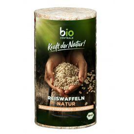 Ekologiški rudųjų ryžių trapučiai BIOZENTRALE natūralūs, 100g