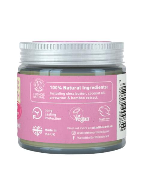 Natūralus tepamas dezodorantas SALT OF THE EARTH su bijūnų žiedais, 60 g 3