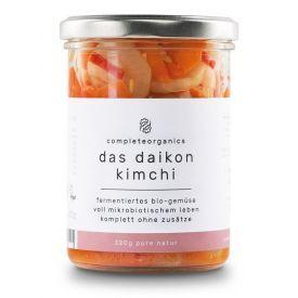 """Kimchi"" kopūstai su ridikais COMPLETEORGANICS, ekologiški, 320g"