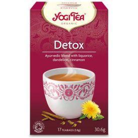 """Ekologiška detoksikuojanti arbata YOGI TEA """"Detox"""", 30,6 g"""