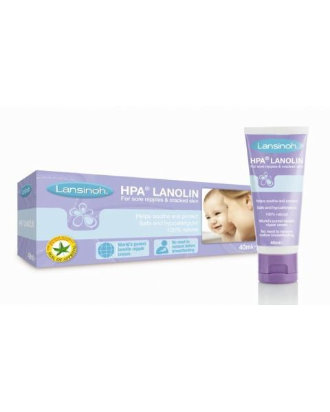 Lanolino kremas speneliams LANSINOH, 40ml