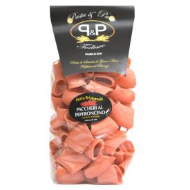 """Makaronai su aitriosiomis paprikomis Pasta&Pasta """"Paccheri peperoncino"""", 500 g"""