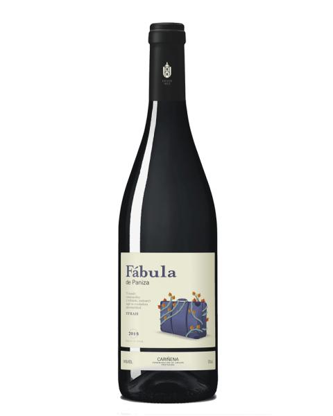Raudonas sausas vynas Paniza Fabula Syrah 13,5%, 750 ml